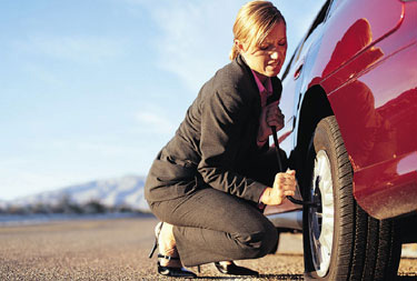 roadside tire change glendale